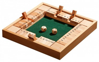 shut the box is een simpel verleidelijk dobbelspel. Black Bedroom Furniture Sets. Home Design Ideas